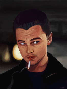 Leonardo DiCaprio from The Departed GIF