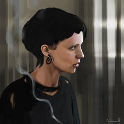 Rooney Mara as Lisbeth Salander Gif by chernyshov