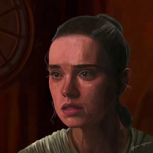 Daisy Ridley as REY   Star Wars Jedi   GIF