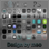 differents styles Photoshop