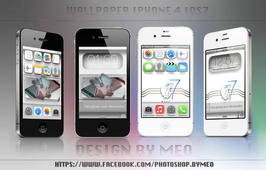 Wallpaper pack iphone 4 ios 7