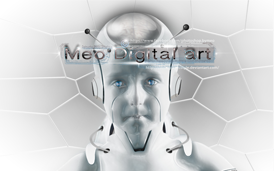 Wallpaper Robot HD By Meo by Meophotographie