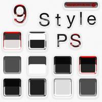 9 Styles Blanc By Meo Digital Art