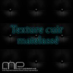 texture cuir matelasse