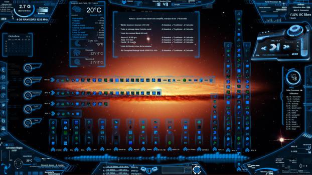 Neon Space Demo Bleu 1.4 FR