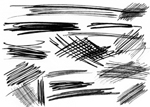 Scribble Brushes by necrosensual-art