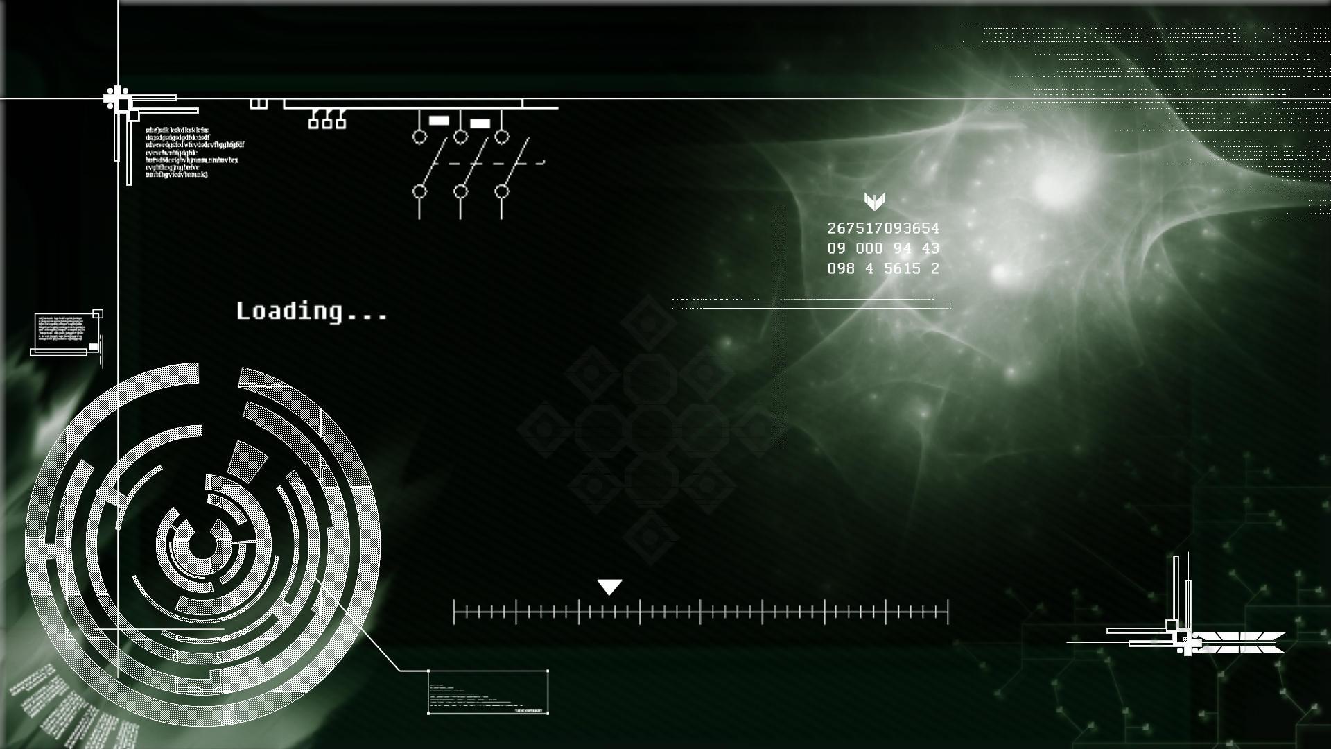 Technical Wallpaper by Psycho-Kuscheldecke