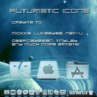 Holographic Icons for Mac by scifidude5022