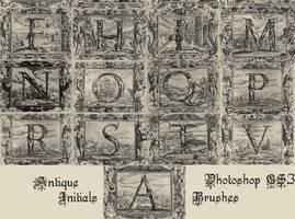 Antique Initials - PS Brushes