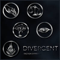 Divergent Faction Symbol brushes by xxtayce
