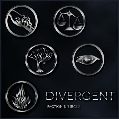 Divergent Faction Symbol brushes by xxtayce on DeviantArt