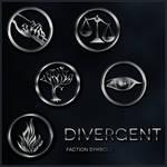 Divergent Faction Symbol brushes