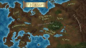 The Kingkiller Chronicle's map