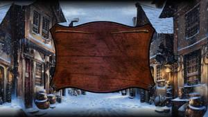 Pottermore Logon Screen: Christmas #2