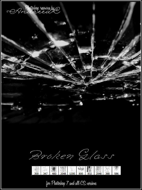 UNRESTRICTED - Broken Glass Brushes