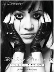 UNRESTRICTED - Bleeding Mascara Brushes by frozenstocks