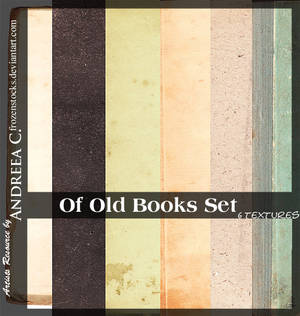 UNRESTRICTED - Of Old Books Pack