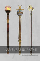UNRESTRICTED - Staves Collection 2 by frozenstocks