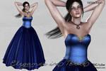 UNRESTRICTED - Elegance In Blue by frozenstocks