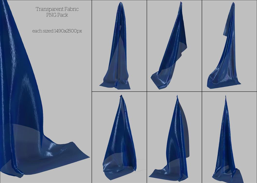 UNRESTRICTED - Sheer Blue Fabrics by frozenstocks