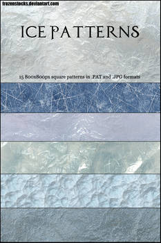 UNRESTRICTED - Ice Patterns
