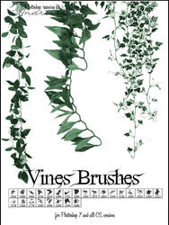 UNRESTRICTED - Leaves Vines Brushes