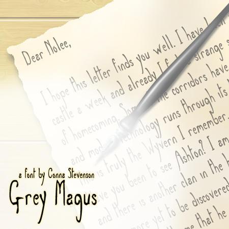 Grey Magus by WearManyHats