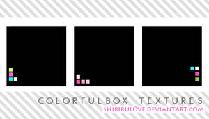 Icon Textures: Colorful Box