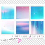 Icon Textures: Blue Flame