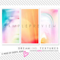 Large Textures: Dreaming