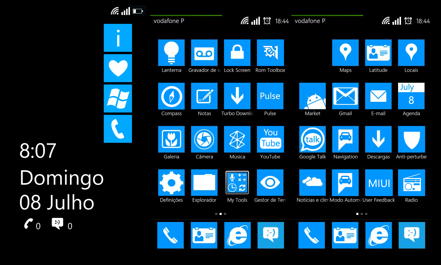 Dubakumetro Miui Theme Based On Wp7 By Dubaku On