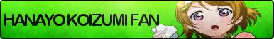 Hanayo Koizumi Fan Button
