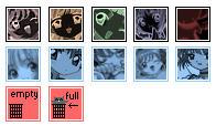 cardcaptors desktop icons by insanespamking