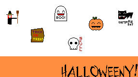 halloweeny desktop icons by insanespamking
