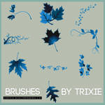Brushes hojas/enredaderas by Trixie