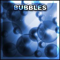 Brush Set 001: Bubbles by Zimmette-Stock