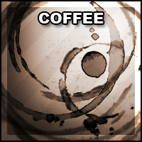 Brush Set 002: Coffee by Zimmette-Stock
