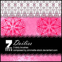 Brush - Doilies by Zimmette-Stock