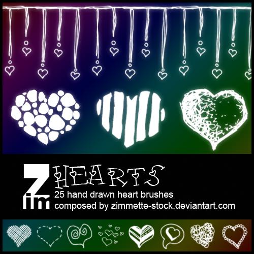 Brush - Hearts
