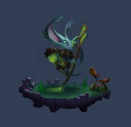 Fantasy Character Design by ArtOfThompson