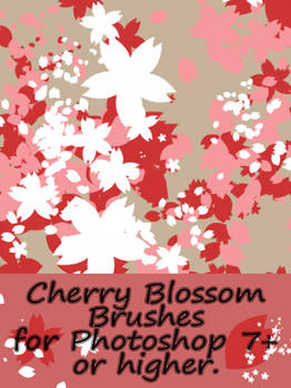 Cherry Blossom brushes