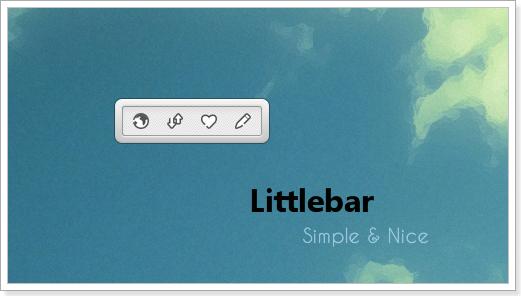 Littlebar for XWidget by Jonas-aus-China