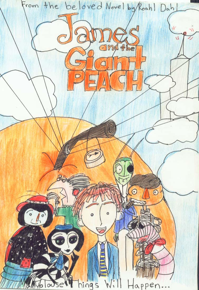 james and the giant peach by ragdollcorpse on deviantart