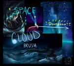 SPACE || CLOUDS BRUSH for Sai