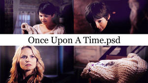 Once Upon A Time psd