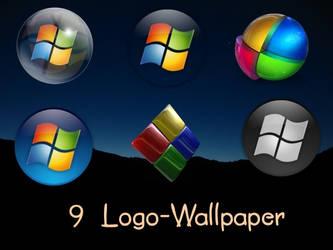 9 Logo-Wallpaper