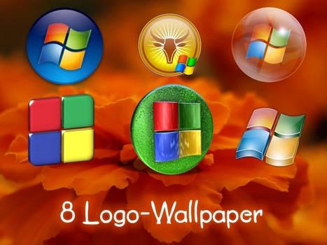 8 Logo-Wallpaper