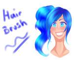 FREE Clip Studio Paint Watercolour Hair brush
