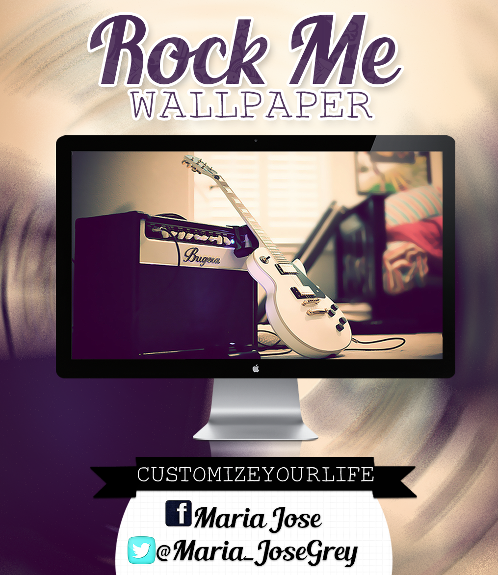 #Rock Me {Wallpaper} by CustomizeYourLife