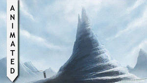 Snow Spire - Loop with ambient music